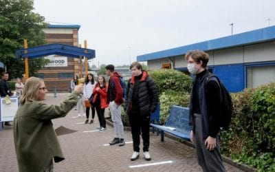 A visit from the Warrington Guardian
