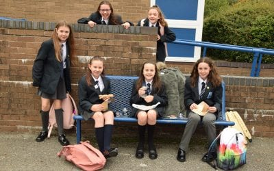 A taste of year 7s first day at BCHS
