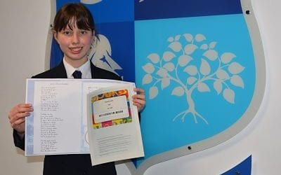 Congratulations to Abigail Bennet who was 2nd place winner in the countrywide Alliance for Learning Teaching School Poetry Competition 2020