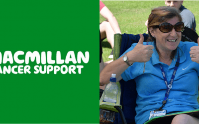 Macmillan thank us for setting a good example to schools, in pulling together to support Miss Mac and cancer care