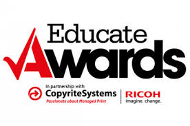BCHS Eco- committee receive a well-deserved accolade from the North West Educate Awards.